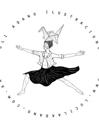 Logo Luli Adano Ilustraciones puntitos - Lucille A