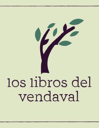 Logo vendaval - Los libros del vendaval Los libros del vendaval